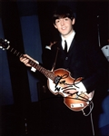"The Beatles: Paul McCartney Signed 8"" x 10"" Color Photo (REAL/Epperson)"