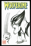 "Neal Adams Signed ""Wolverine"" Variant Edition Comic Book w/ Hand-Drawn Sketch (BAS/Beckett)"