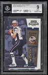 Ultimate Brady Rookie: Tom Brady Signed 2000 Playoff Contenders Card BGS 9 w/ 10 Autograph!