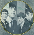 "The Beatles Signed 7"" x 7"" Magazine Photograph w/ Paul McCartney, John Lennon, George Harrison & Ringo Starr (PSA/DNA)"