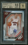 Stephen Curry Signed 2009-10 UD Draft Edition Auto #34 Rookie Card BGS 9.5 w/ 10 Auto!