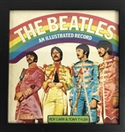 "The Beatles: John Lennon Signed Srgt. Peppers 12"" x 12"" Illustrated Record Book! (Caiazzo & Beckett/BAS Guaranteed)"