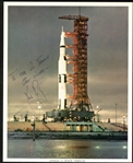 "Neil Armstrong Signed 8"" x 10"" Apollo 11 Spaceship Photograph (Beckett/BAS)"