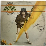 "AC/DC Vintage Group Signed ""High Voltage"" Album w/ Bon Scott! (Beckett/BAS)"