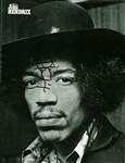 "Jimi Hendrix Signed 8"" x 10"" POP Magazine Photograph, Graded GEM MINT 10, The Highest Ever Offered! (Beckett)"