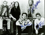 "The Eagles ULTRA-RARE Group Signed 8"" x 10"" Promotional Photograph w/ All Five Members! (JSA)"