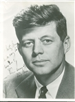 "President John F. Kennedy Exceptional Signed 8"" x 10"" Senate Photograph (PSA/DNA)"