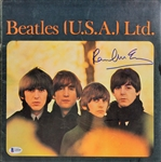 Paul McCartney Signed 1965 U.S. Tour Program (BAS/Beckett)
