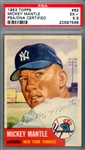 Mickey Mantle Signed 1953 Topps #82 (PSA Encapsulated & Graded EX+ 5.5)