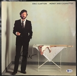 "Eric Clapton Perfectly Signed ""Money And Cigarettes"" Album Beckett/BAS Graded GEM MINT 10!"