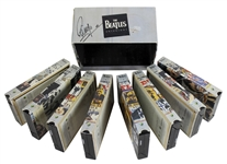 The Beatles: Ringo Starr Signed Anthology VHS Box Set (BAS/Beckett)