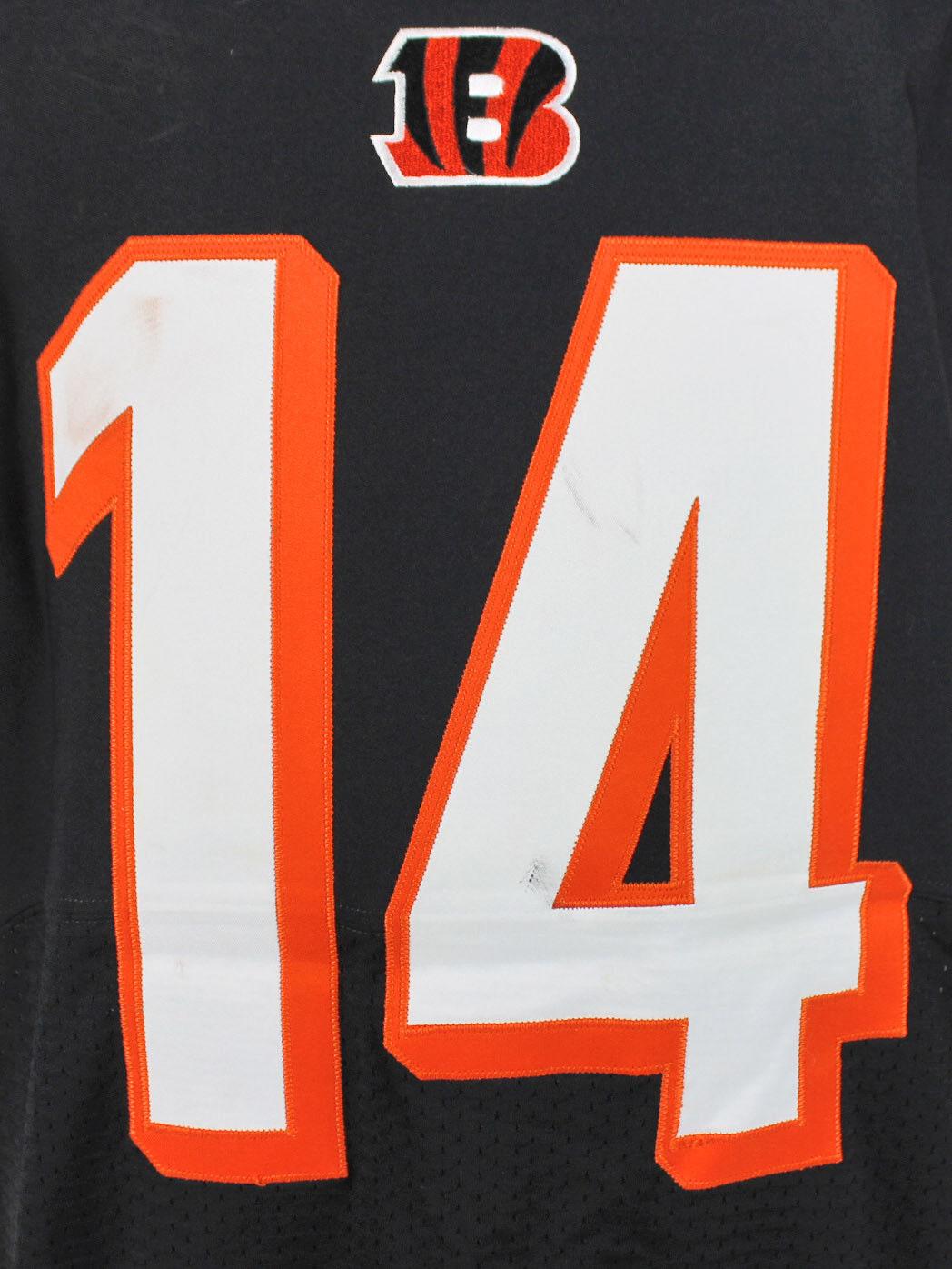 ca87bcad Lot Detail - Andy Dalton Game Used Cincinnati Bengals Nike Jersey ...