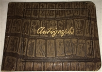 Vintage Autograph Book (c. 1970s-80s) w/ 19 Signatures (BAS/Beckett Guaranteed)