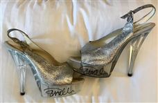 Pamela Anderson Personally Owned, Worn & Signed High Heels (Anderson COA & BAS/Beckett Guaranteed)