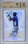 Kris Bryant Signed 2013 Leaf Metal #KB1 Rookie Card - Beckett Graded Pristine 10-10!