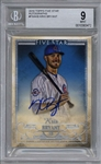 Kris Bryant Signed 2016 Topps Five Star Autographs Baseball Card - BGS 9 w/ Gem Mint 10 Auto!