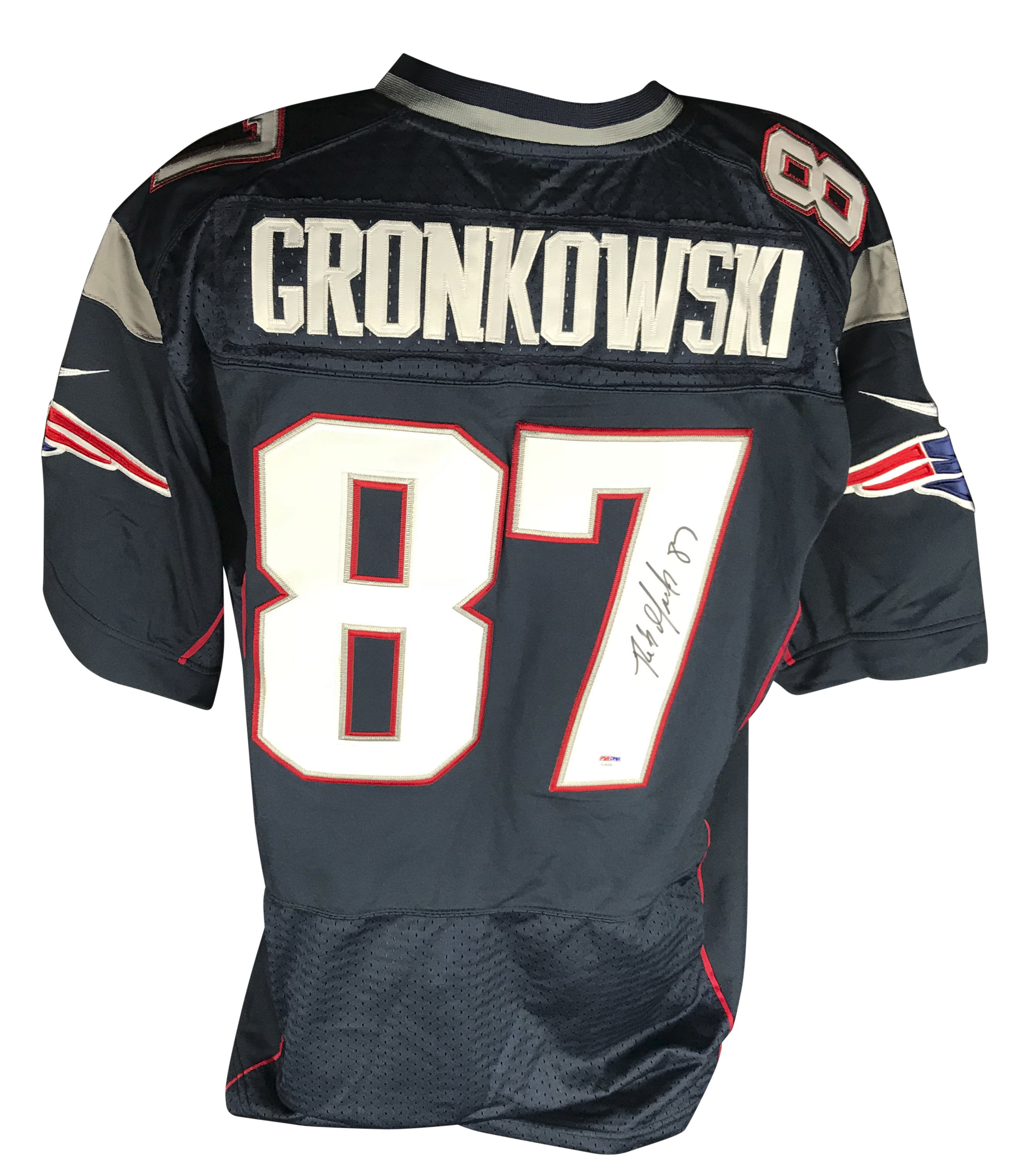 84892368 Lot Detail - Rob Gronkowski Signed New England Patriots Jersey (PSA/DNA)