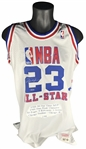 Michael Jordan Signed Limited Edition 1988 All-Star Game Stat Jersey (Upper Deck)