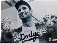 "Sandy Koufax Rare Signed Over-Sized 30"" x 40"" No Hitters Photograph - PSA/DNA GEM MINT 10!"