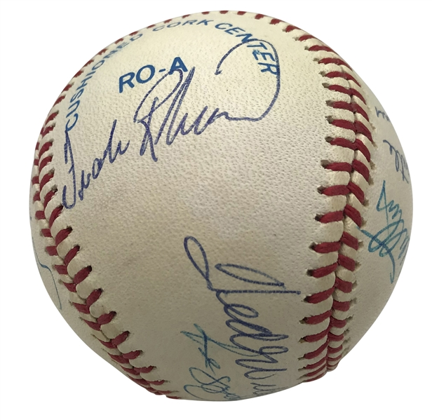 500 Home Run Club Impressive Signed OAL Baseball w/ Original 11! (Beckett/BAS Guaranteed)