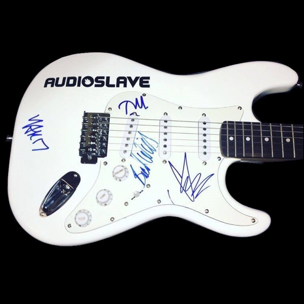 Audioslave RARE Band Signed Stratocaster-Style Guitar w/ All 4 Members! (BAS/Beckett Guaranteed)
