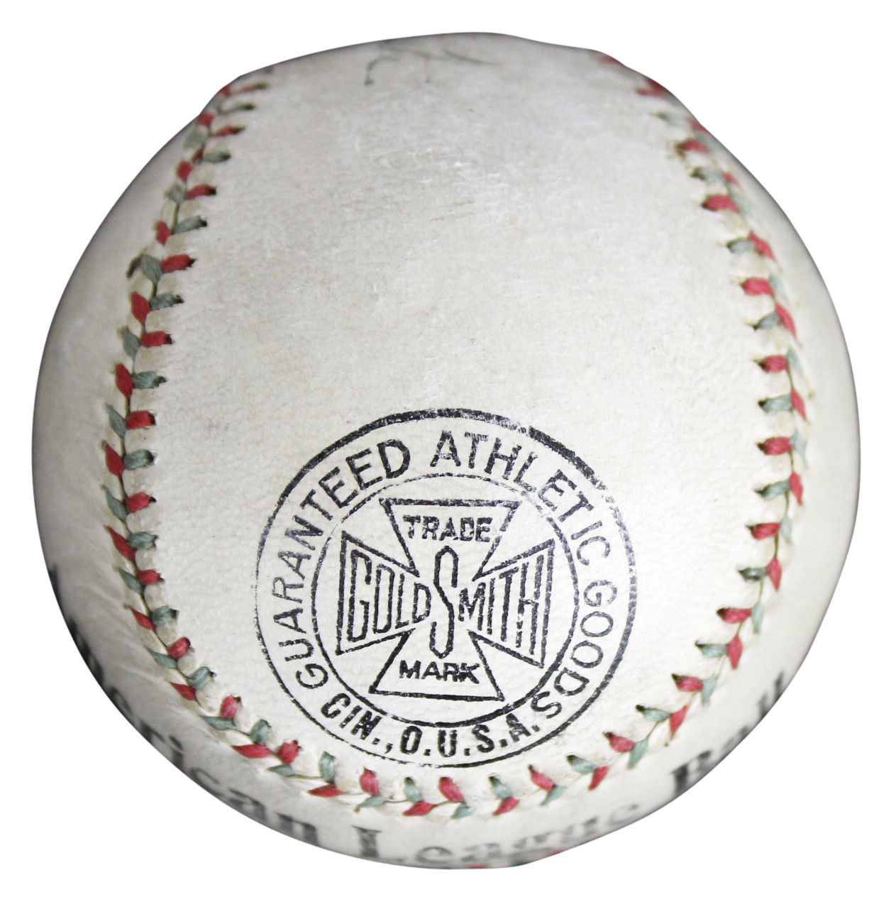 Lot Detail - Babe Ruth EARLY Single Signed American League Baseball