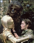 "Anthony Daniel & Peter Mayhew Signed 8"" x 10"" Endor Photograph (Beckett/BAS Guaranteed)"
