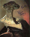 Jon Berg Signed Lot of Two (2) Hammerhead Photographs w/ Rick Baker! (Beckett/BAS Guaranteed)