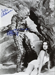 Creature from the Black Lagoon Lot of Four (4) Signed Items w/ Julie Adams & Ricou Browning (Beckett/BAS Guaranteed)