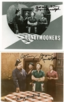 "The Honeymooners Lot of Four (4) Signed 8"" x 10"" Photographs w/ Meadows, Carney & Others (Beckett/BAS Guaranteed)"