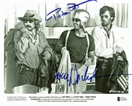 "Easy Rider Dual-Signed 8"" x 10"" Promotional Photograph with Nicholson & Fonda (BAS/Beckett)"