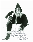 "Wizard of Oz: Ray Bolger Signed 8"" x 10"" Photo as The Scarecrow (Beckett/BAS)"
