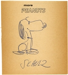 Charles M. Schulz Rare Vintage Ballpoint Signed & Hand Drawn Snoopy Sketch! (Beckett/BAS)