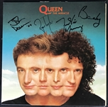 "Queen Rare c. 1989 Group Signed ""The Miracle"" Album (Beckett/BAS Guaranteed)"