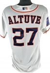 Jose Altuve Game Used/Worn 2014 Japan All-Star Series Astros Jersey (MEARS Guaranteed)