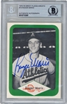 Roger Maris Signed 1975-76 Great Plains Greats #18 Card (Beckett/BAS Encapsulated)