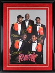 Boxing Champions Multi-Signed Poster with Ali, Frazier, Foreman and Others! (BAS/Beckett)
