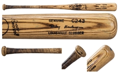 Rickey Henderson Game Used Louisville Slugger C243 Bat - MEARS Graded A-10!