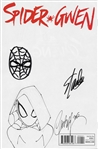 "Stan Lee Signed ""Spider-Gwen"" Comic Book with ULTRA RARE Spider-Man Hand Drawn Sketch! (JSA)"