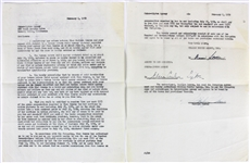 Marilyn Monroe Rare Signed Legal Document Between William Morris & Cukor-Lipton Agencies (Beckett/BAS)