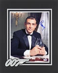 "Sean Connery Superb Signed 11"" x 14"" Color Photo as ""007: James Bond"" (PSA/DNA)"