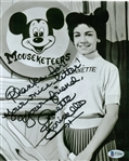 "Annette Funicello Signed 8"" x 10"" Photograph (Beckett/BAS)"