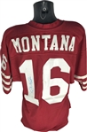 Joe Montana Signed & Game Used 1985-87 San Francisco 49ers Jersey MEARS Perfect A-10!