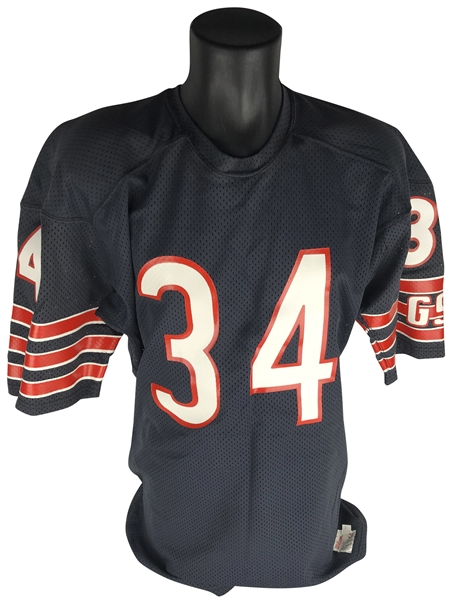 ... Walter Payton Super Bowl-Era Mid 1980 s Signed   Inscribed Game Issued  Jersey (MEARS 0d0485df8