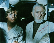 "Star Wars: Alec Guinness & Mark Hamill Rare Dual Signed 8"" x 10"" Photograph (PSA/DNA)"