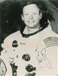 Apollo 11: Neil Armstrong Signed Un-Inscribed NASA Photograph (Beckett/BAS)