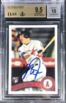 Mike Trout Signed 2011 Topps Update #US175 BAS Gem Mint 10 & BGS 9.5 Gem Mint Card
