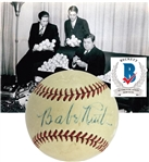 Babe Ruth Exceptional Single Signed OAL (Harridge) Baseball (Beckett/BAS)