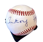 Anthony Hopkins Signed OML Baseball (BAS/Beckett Guaranteed)