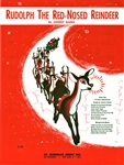 "Johnny Marks Signed ""Rudolph the Red-Nosed Reindeer"" Sheet Music (Beckett/BAS Guaranteed)"